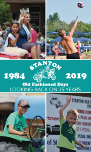 Stanton Old Fashioned Days Booklet