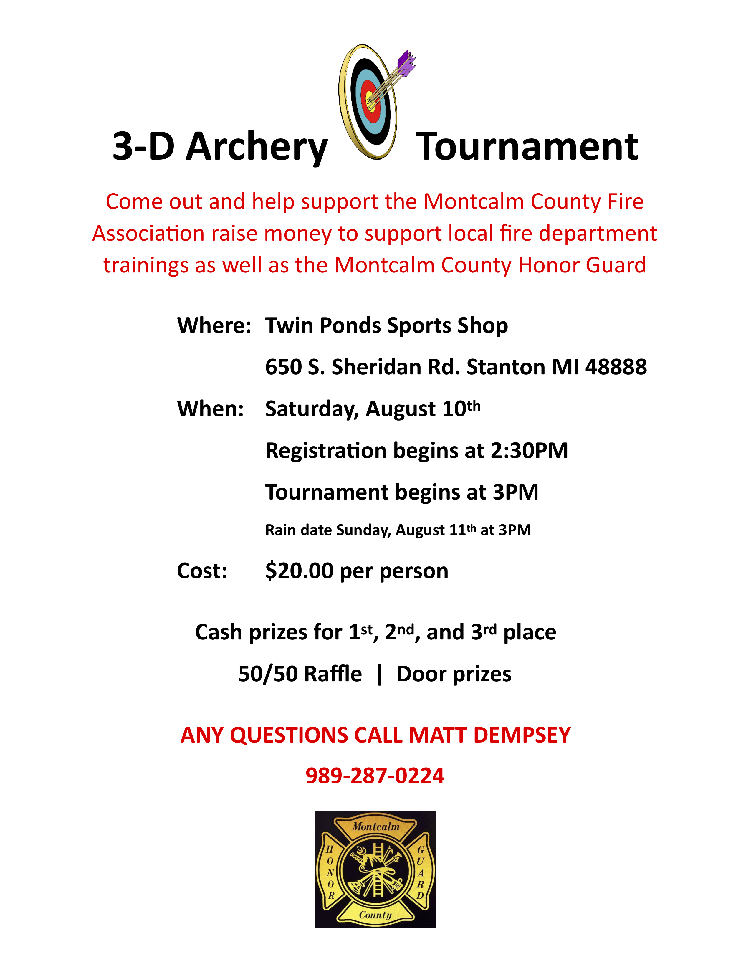 Archery Contest – Stanton Old Fashioned Days